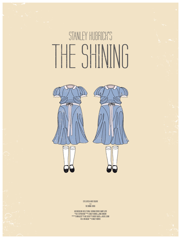 the shining movie poster dress the part 10 Movie Posters Inspired by Mens Style